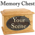 Memory Chest Style Urn