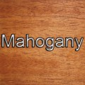 Mahogany Wood Type