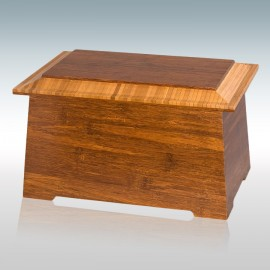 Bamboo Sonata - Wood Cremation Urn
